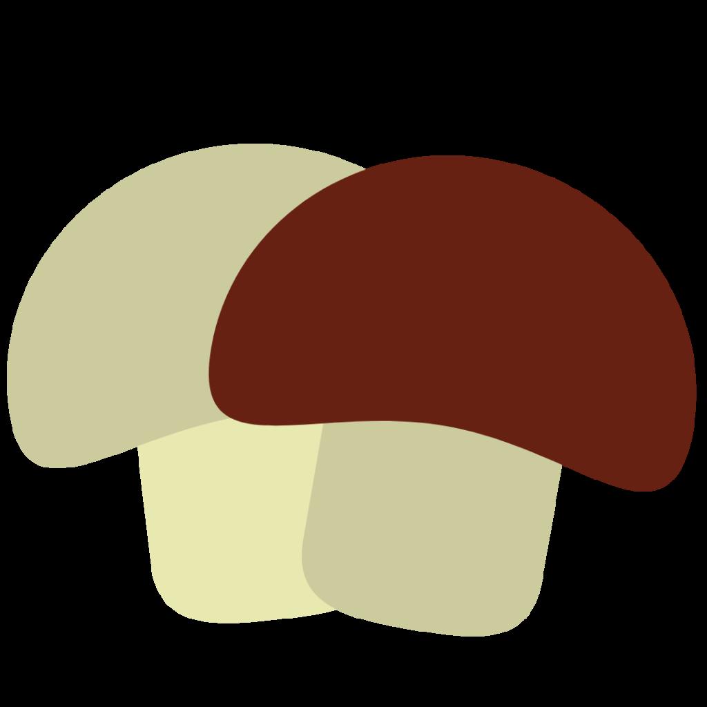 Mushrooms Simple Graphic