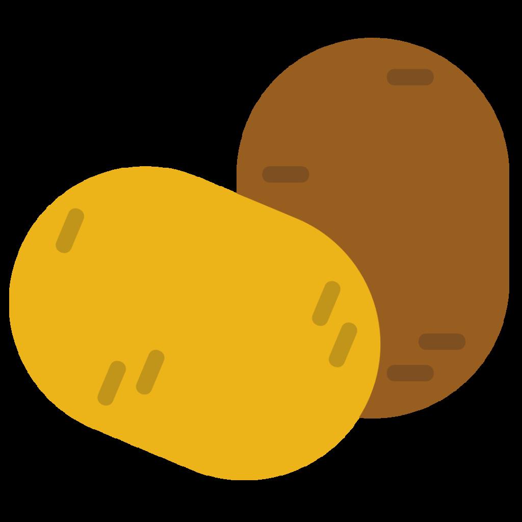 Potatoes Simple Graphic
