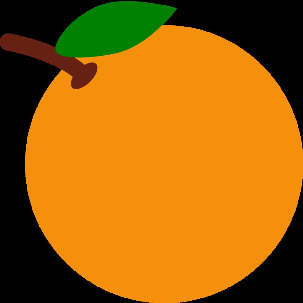 Orange Simple Graphic