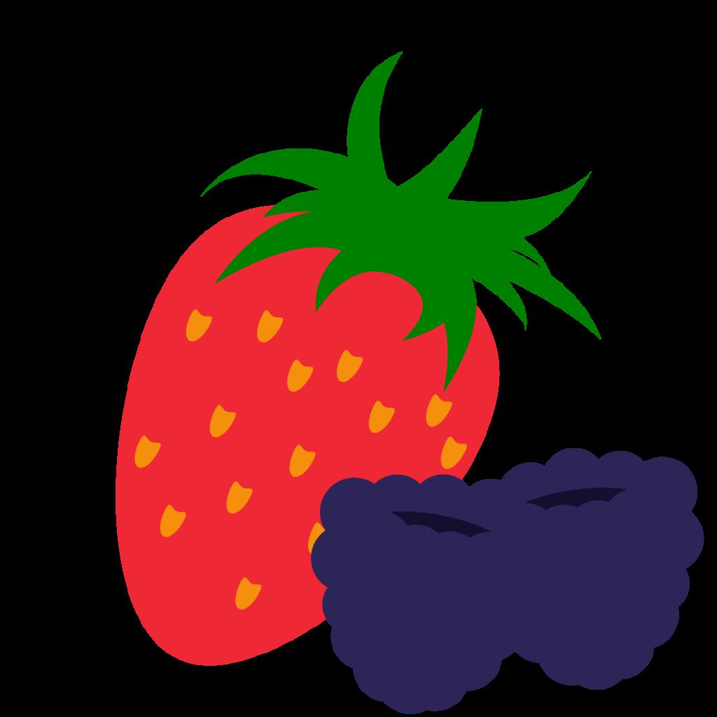 Berries simple graphic