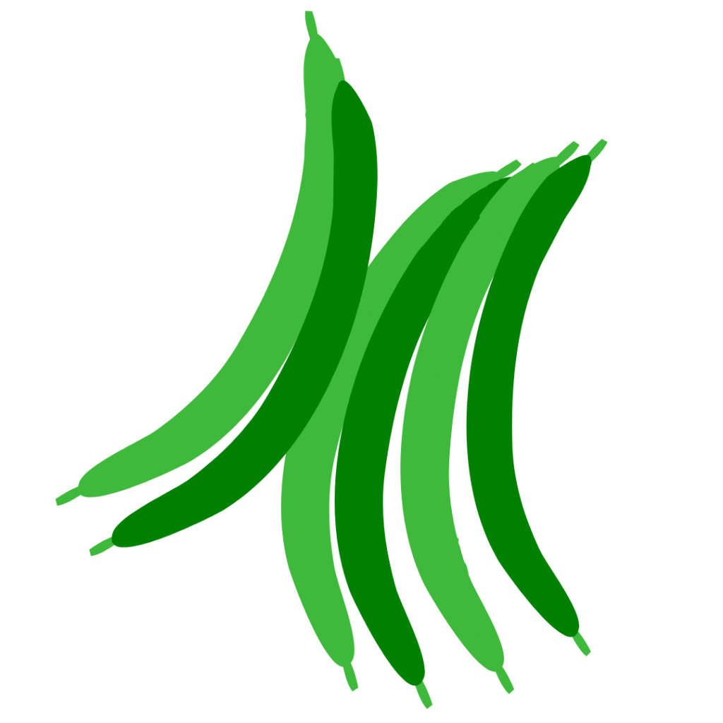 Green Beans Simple Graphic